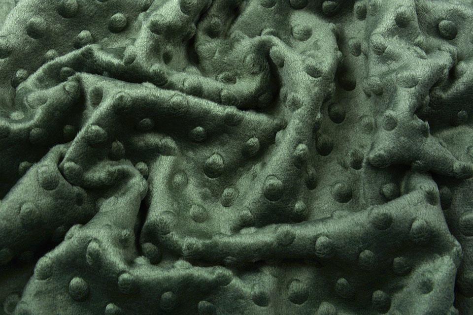 Minky Fleece Army Groen