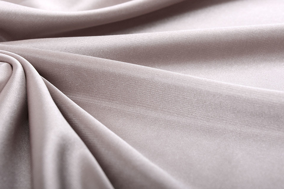 Charmeuse Voering Taupe