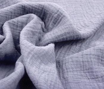 Baumwoll Musselin Stoff Violett