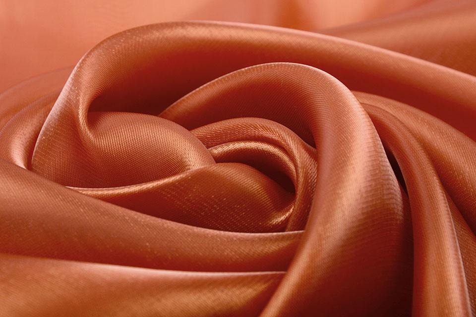 Korean Silk Roest Brique