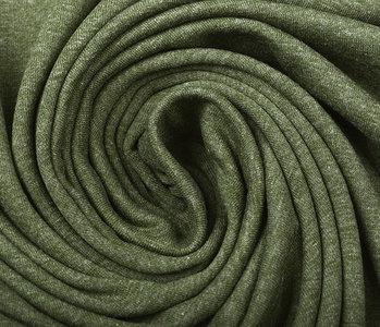 Oeko-Tex®  Cotton Jersey Army Melange