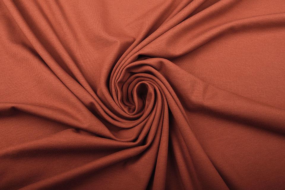 Oeko-Tex®  Cotton Jersey Brique