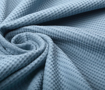 Oeko-Tex®  Baby Jersey Waffelpiqué Baumwolle Jeans