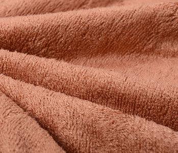 Bamboo Terry Cloth Orange Brique