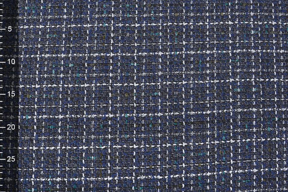 Bouclé Sjanelli Glitter Multi Blauw