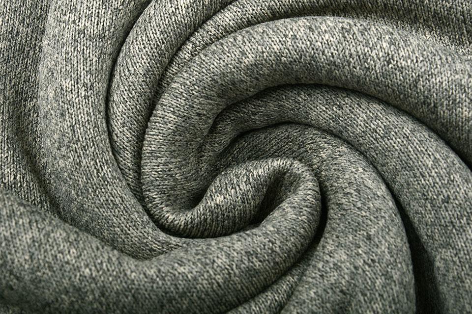 Knitted Jogging, Fur Melange Beige Grey