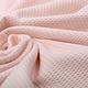 Oeko-Tex®  Baby Jersey Wafel Katoen Licht Roze