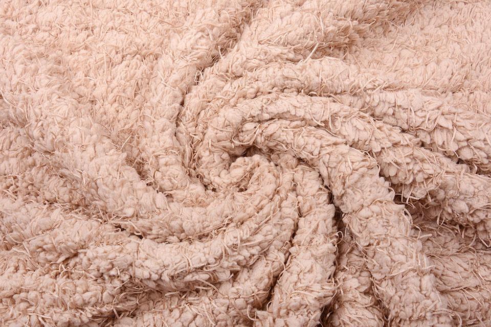 Fancy Bouclé Powder Pink