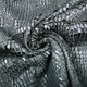 Fur Snake Foil Shiny Grijs