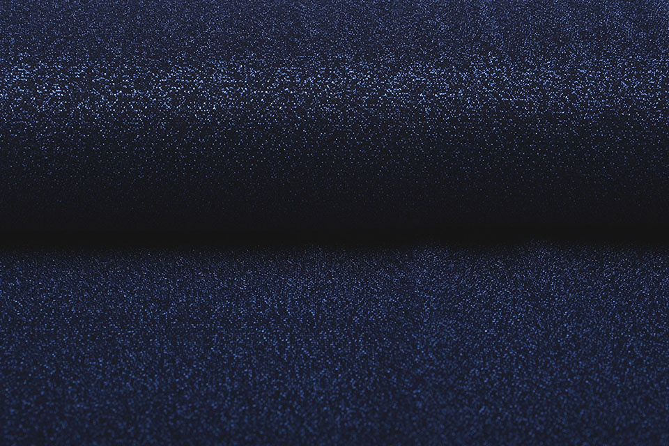Lurex Dans Marine Blauw