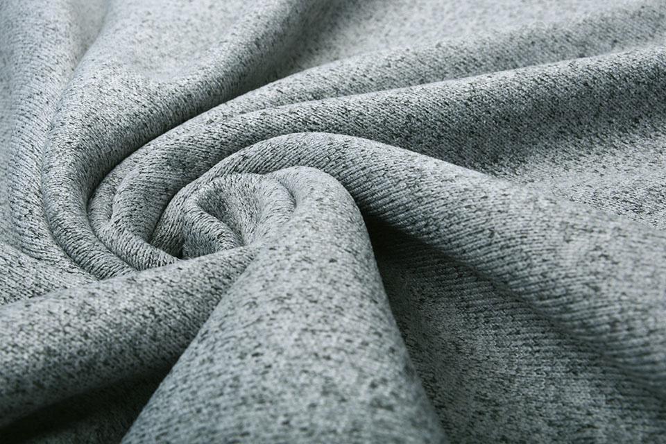 Gebreide Fleece Zilver Grijs