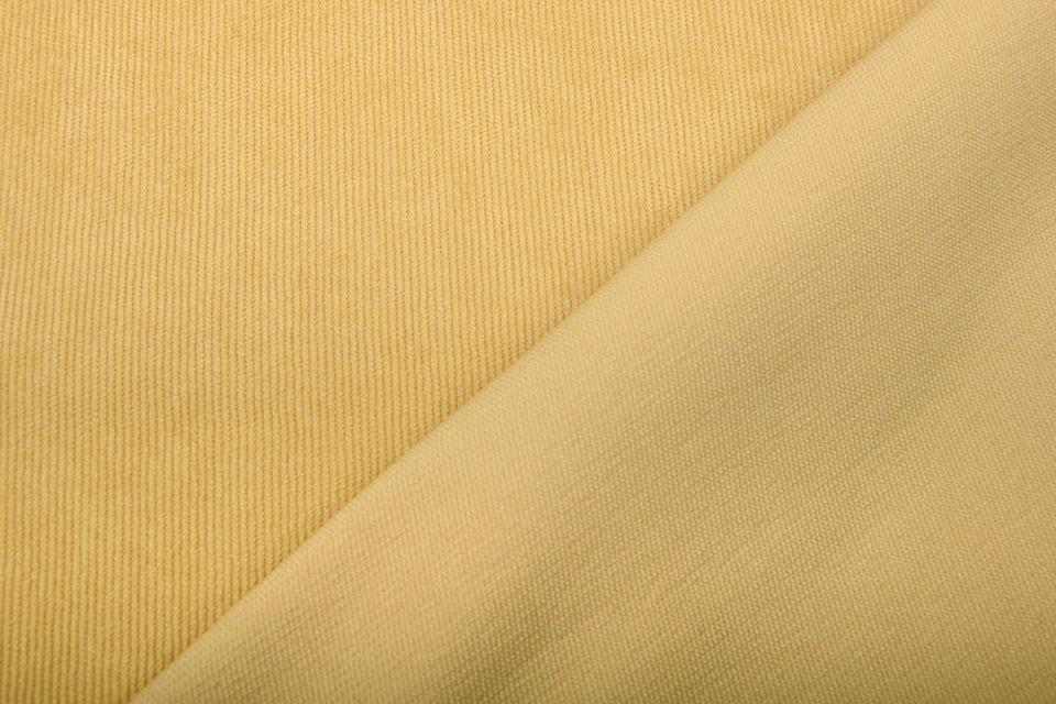 16 W Corduroy Ocher Yellow
