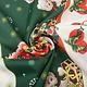 Kerststof  Kerstberen Groen