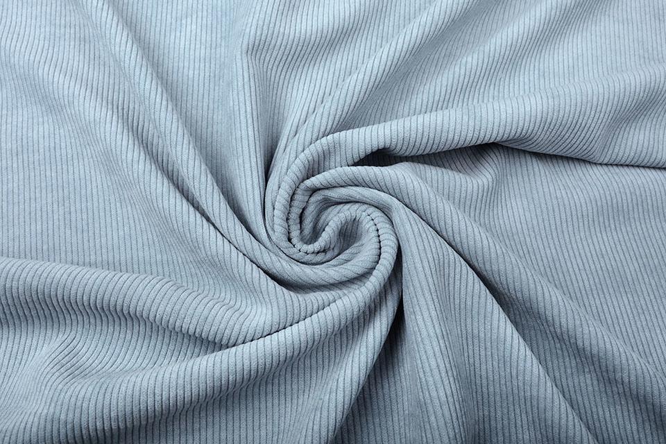 8 W Corduroy Grijs Blauw