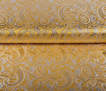 Brocade Sihir Swirl Yellow