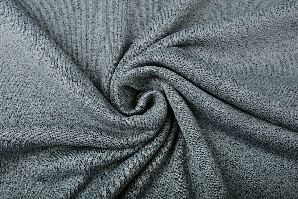 Gebreide Fleece Grijs