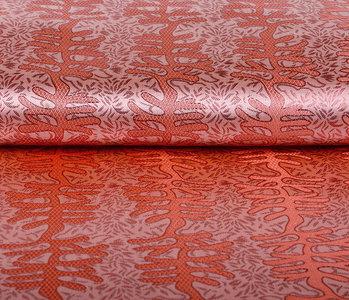 Brocade Matawi Red