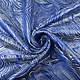 Brokaat Mazuri Waves Kobaltblauw