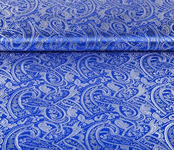 Brokaat Sihir Swirl Kobaltblauw