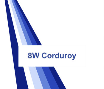 Stalenkaart Rib Corduroy 8 W