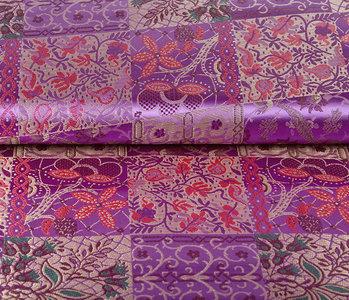 Brocade Indian Tile Purple