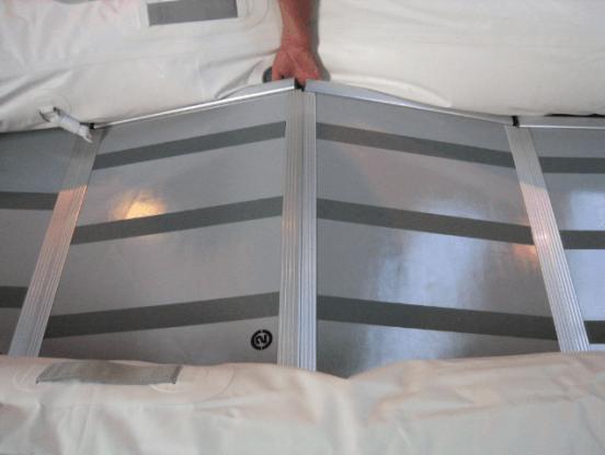 aluminium vloerdelen rubberboot