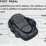voetpedaal boegmotor