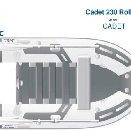 Zodiac Zodiac Cadet 230 Roll Up rubberboot met lattenbodem