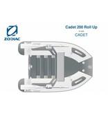 Zodiac Zodiac Cadet 200 Roll Up rubberboot met lattenbodem