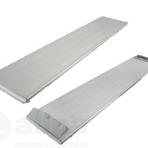 Aluminium bankje voor rubberboot L=100cm