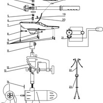 Rhino Part 12-3 Motorbevestiging VX44/54 VX80