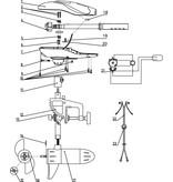 Rhino Rhino Part 15 Propeller Veiligheidsmoer VX28/34/44/54/80