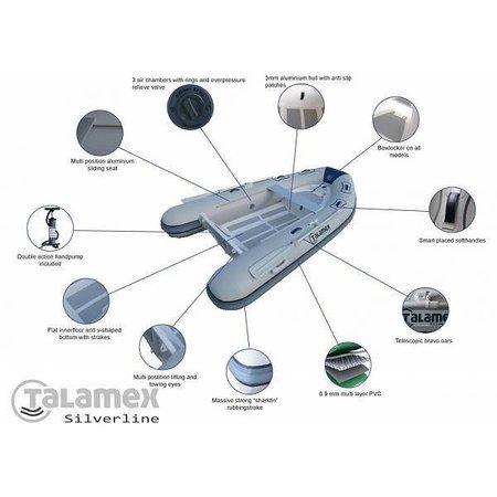 Talamex Talamex Silverline 270 aluminium RIB