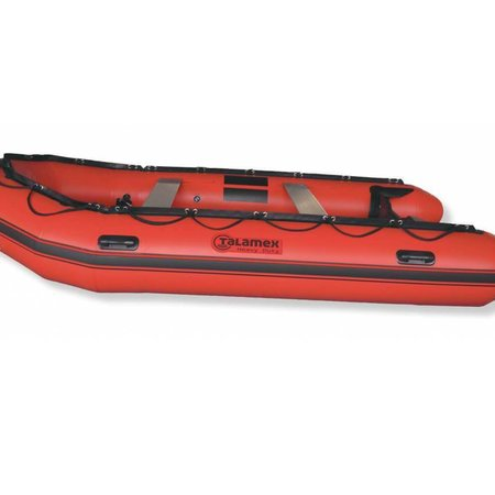 Talamex Talamex Heavy Duty HDX 450 rubberboot met aluminium vloerdelen