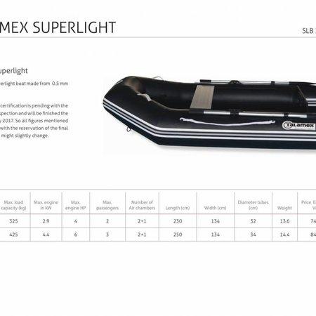Talamex Talamex Superlight SLA 250 rubberboot met airdeck