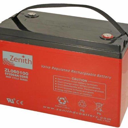 Zenith Zenith AGM Accu 6 volt 200 Ah