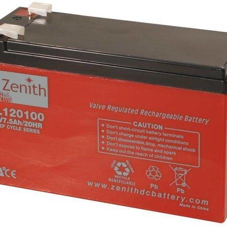 Zenith Zenith AGM Accu 12 volt 7,5 Ah