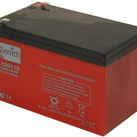 Zenith Zenith AGM Accu 12 volt 12 Ah