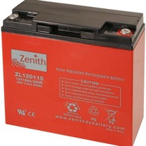 Zenith AGM Accu 12 volt 18 Ah