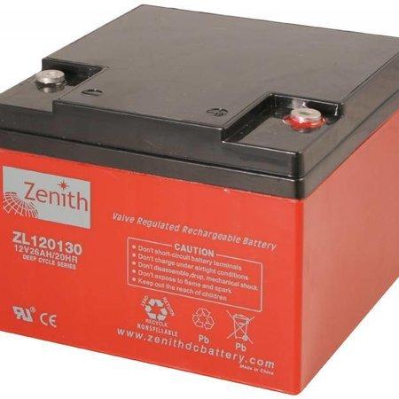 Zenith Zenith AGM Accu 12 volt 26 Ah