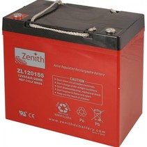 Zenith AGM Accu 12 volt 55 Ah