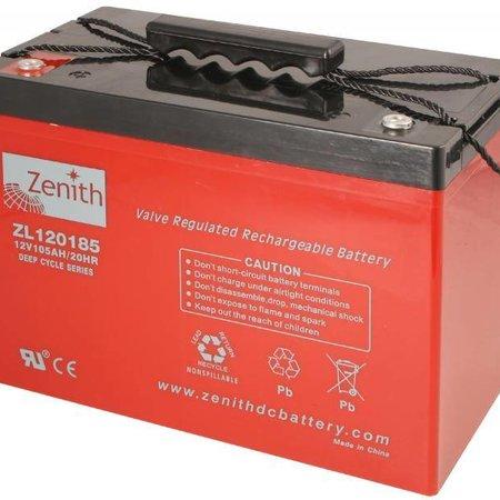 Zenith Zenith AGM Accu 12 volt 105 Ah
