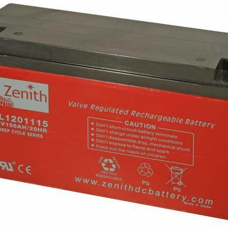 Zenith Zenith AGM Accu 12 volt 160 Ah