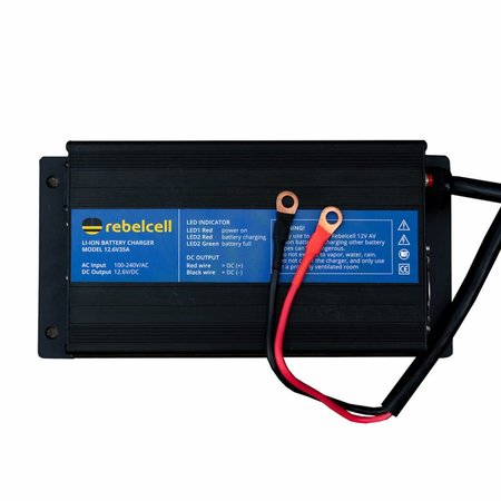 Rebelcell Rebelcell Acculader 12.6V35A Li-ion - voor 12V140 AV li-ion accu