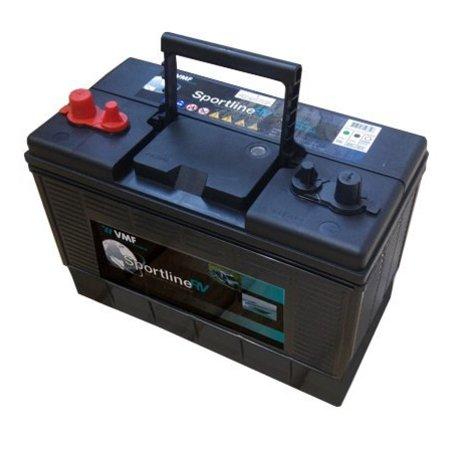 Talamex Talamex TM 48 Fluistermotor complete set met 105Ah accu, accubak en acculader