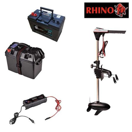 Rhino Rhino BLX70 complete set met 105Ah accu, accubak en acculader