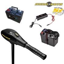 Minn Kota Endura Max 45 complete elektromotor set