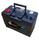 Minn Kota Endura Max 50 complete set met 105Ah accu, accubak en acculader