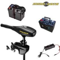 Minn Kota Endura 45 lbs Fluistermotor Set