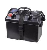 Minn Kota Minn Kota Endura 55 lbs complete set met 105Ah accu, accubak en acculader